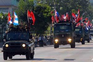 SANTIAGO DE CUBA-CARAVANA DE LA VICTORIA, ANIVERSARIO 55
